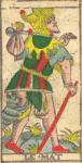 Il Matto - Tarocchi di Nicolas Conver (1760) fondatore della Maison Camoin