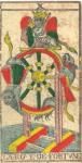 La Ruota della Fortuna - Tarocchi di Nicolas Conver (1760) fondatore della Maison Camoin