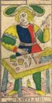 Il Bagatto, o Mago - Tarocchi di Nicolas Conver (1760) fondatore della Maison Camoin
