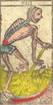 La Morte - Tarocchi di Nicolas Conver (1760) fondatore della Maison Camoin