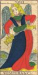 La Temperanza - Tarocchi di Nicolas Conver (1760) fondatore della Maison Camoin