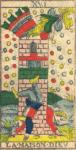 La Torre di distruzione - Tarocchi di Nicolas Conver (1760) fondatore della Maison Camoin