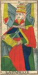 La Papessa, o Sacerdotessa - Tarocchi di Nicolas Conver (1760) fondatore della Maison Camoin