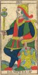 L'Imperatore - Tarocchi di Nicolas Conver (1760) fondatore della Maison Camoin