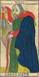 L'Eremita - Tarocchi di Nicolas Conver (1760) fondatore della Maison Camoin